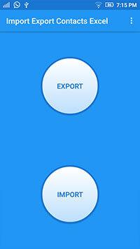 application mobile d'import export