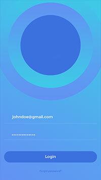 mobile application login